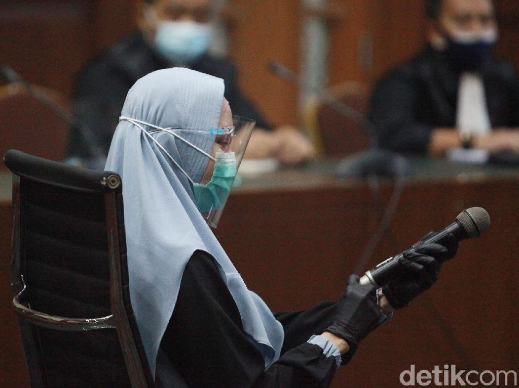 Bacakan Eksepsi, Pihak Pinangki Minta Hakim Batalkan Dakwaan Jaksa