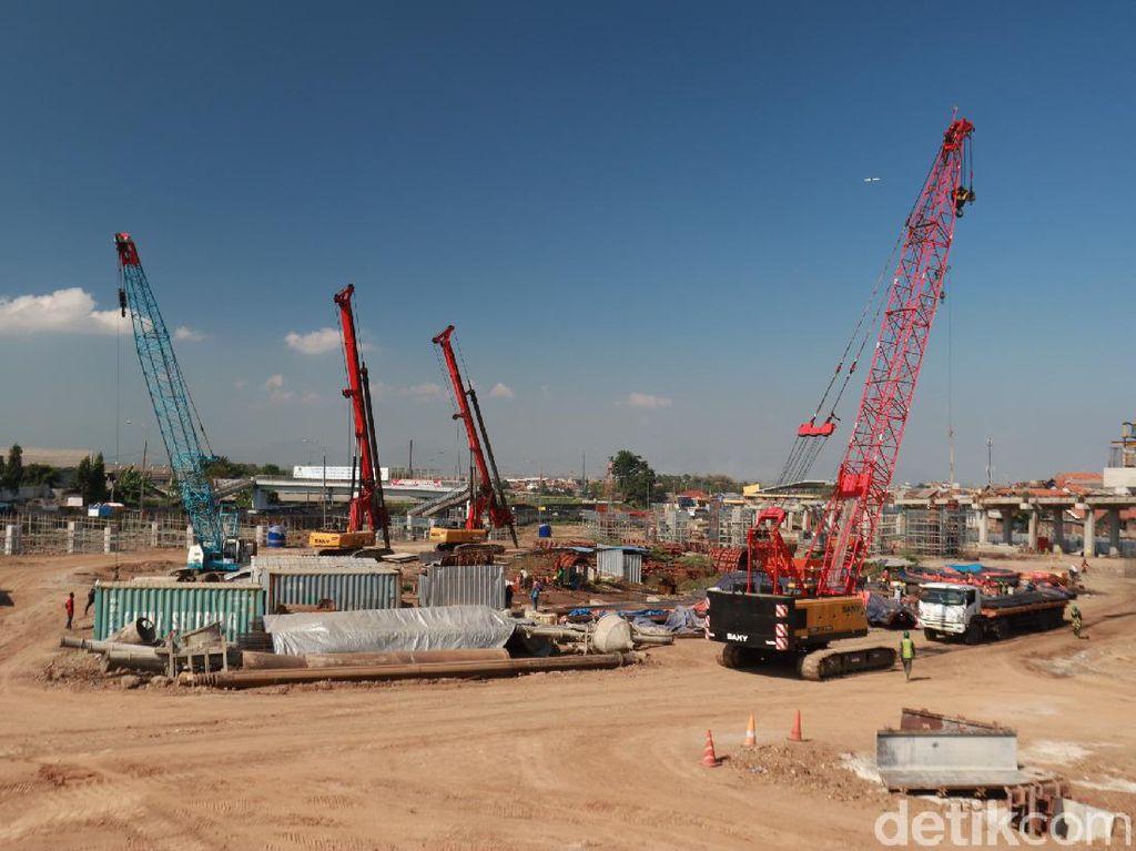 Foto Terkini Pembangunan Tol Cisumdawu di Cileunyi