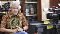 PDIP Ingatkan Sanksi Kader yang Didukung Nyapres, Ganjar Bilang Begini