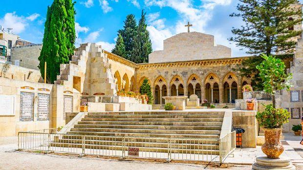 ilustrasi Gereja Pater Noster Yerusalem