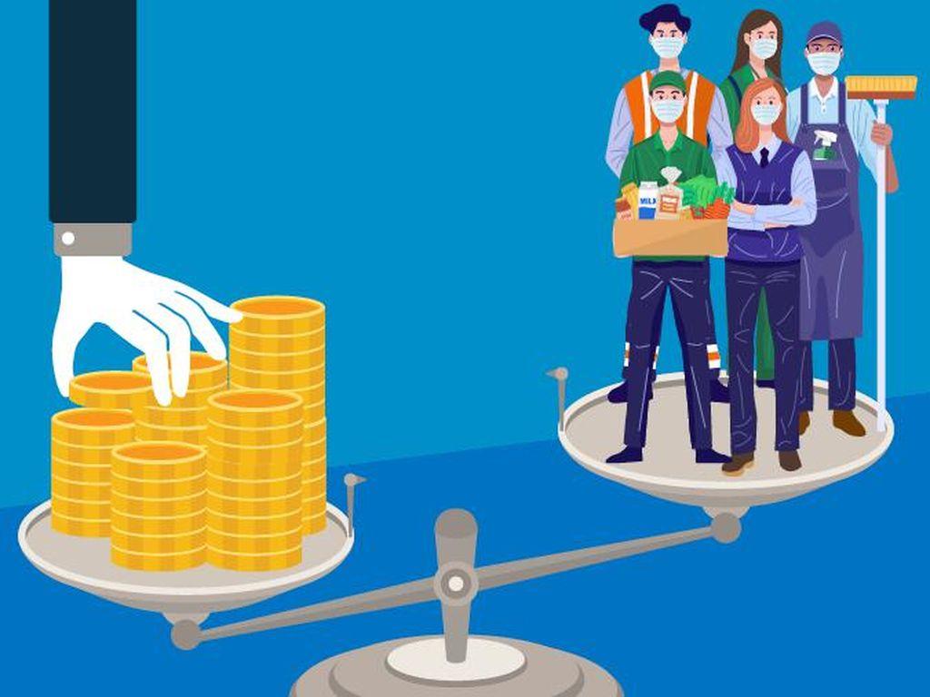 Survei Kemnaker: 41% Perusahaan Mengaku Belum Dapat Bantuan Pemerintah