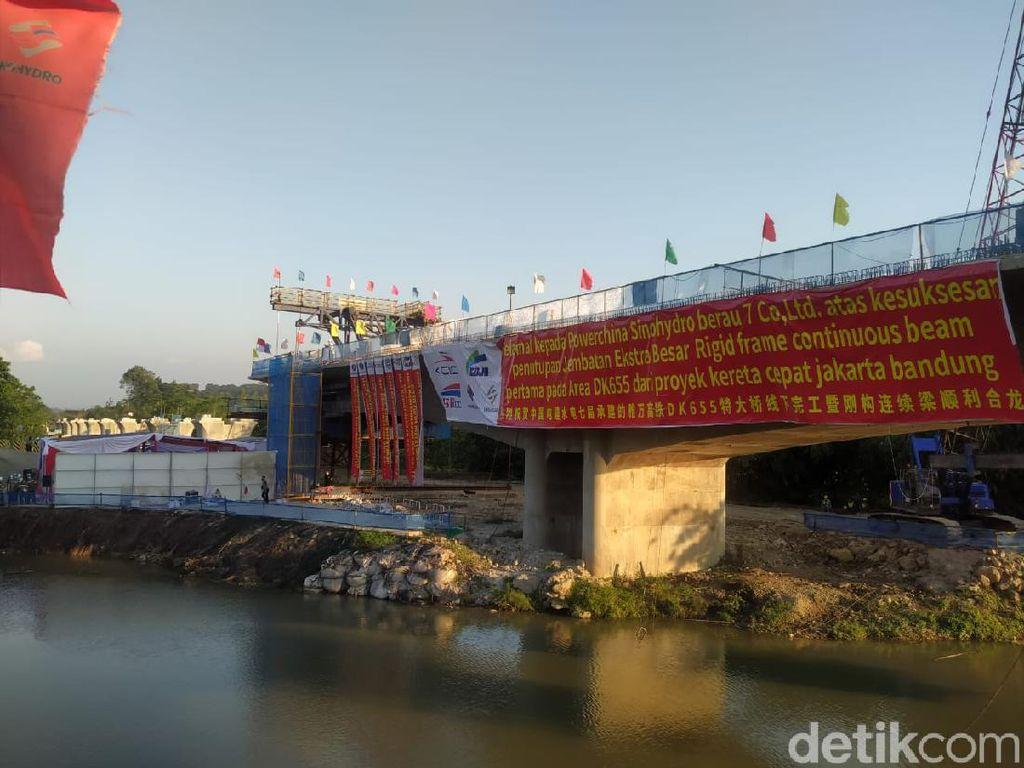 Capai 60%, Begini Progres Proyek Kereta Cepat Jakarta-Bandung