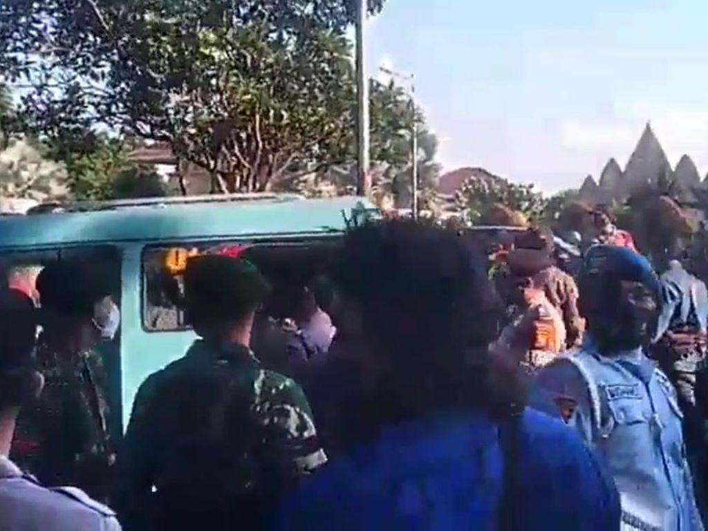 Video Detik-detik Kericuhan di Acara Tabur Bunga di TMP Kalibata