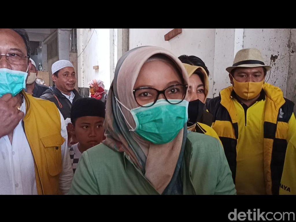 Kunjungi Pesantren, Cabup Bandung Kurnia Bicara Program Digitalisasi