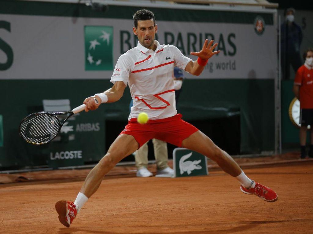 Prancis Terbuka 2020: Djokovic Menang Mudah di Babak Pertama