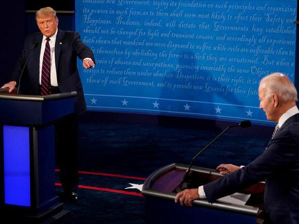 Musisi Bereaksi Atas Debat Presiden AS Hari Ini