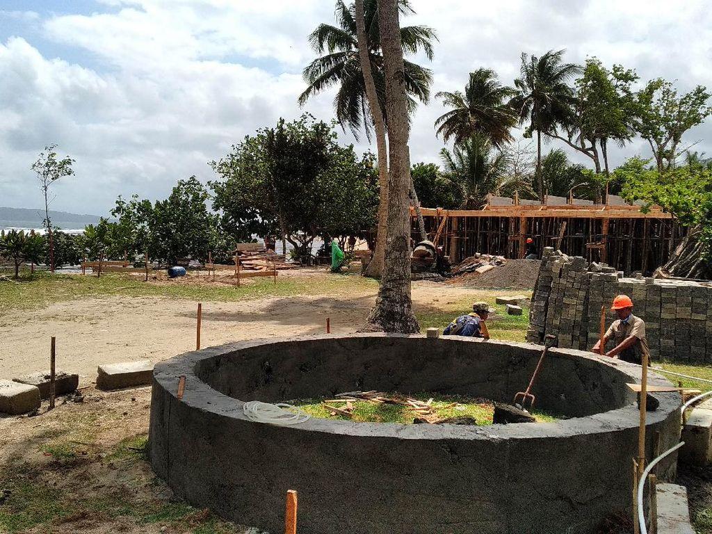 Pantai Karapyak Pangandaran Mulai Ditata, Bak Halaman Resor