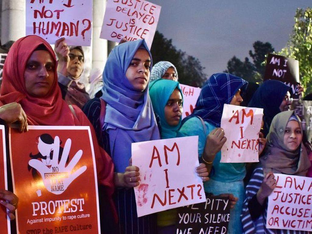 Video Gadis 19 Tahun Meninggal Diperkosa 4 Pria Picu Protes di India