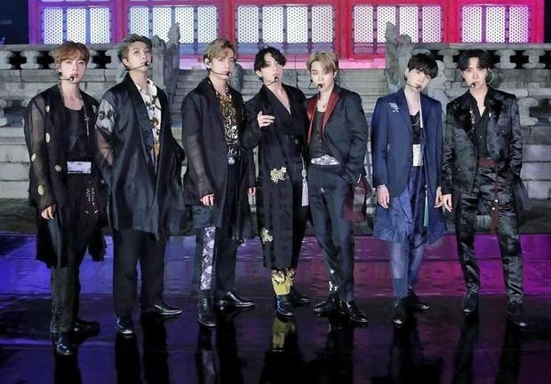 Penampilan BTS di The Tonight Show Starring Jimmy Fallon/ Foto: Koreaboo