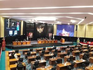 DPRD DKI Gelar Paripurna Pengesahan Raperda Corona Jakarta Hari Ini