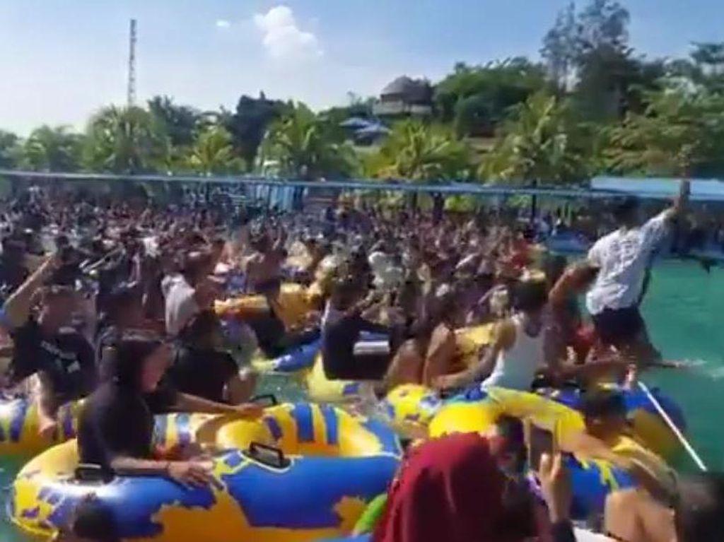 Tak Ada Rasa Ngeri: Demam Pool Party di Sumut Padahal Pandemi