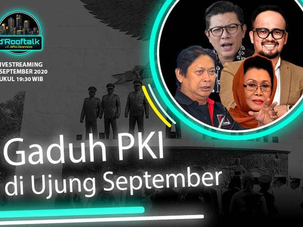 dRooftalk Gaduh PKI di Ujung September