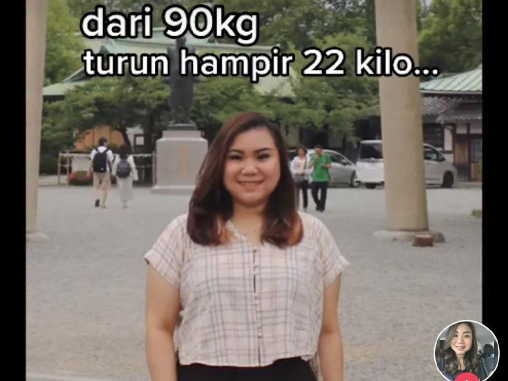 Viral Bikin Kagum, Kisah Wanita Jakarta Turunkan Berat 90 Kg Jadi 68 Kg