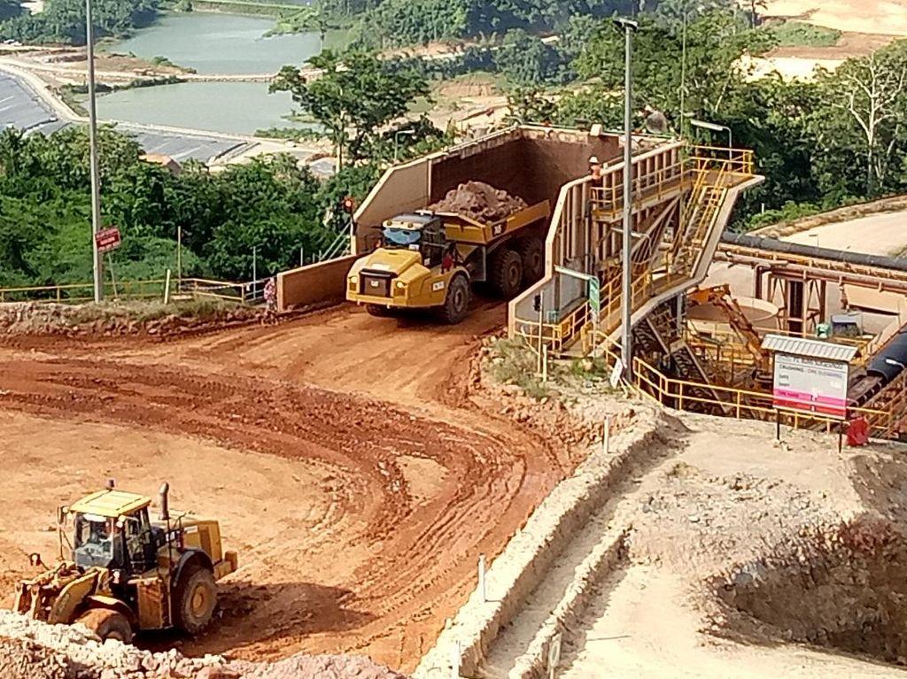 Merdeka Copper Optimalkan Investasi di Tambang Emas Tujuh Bukit