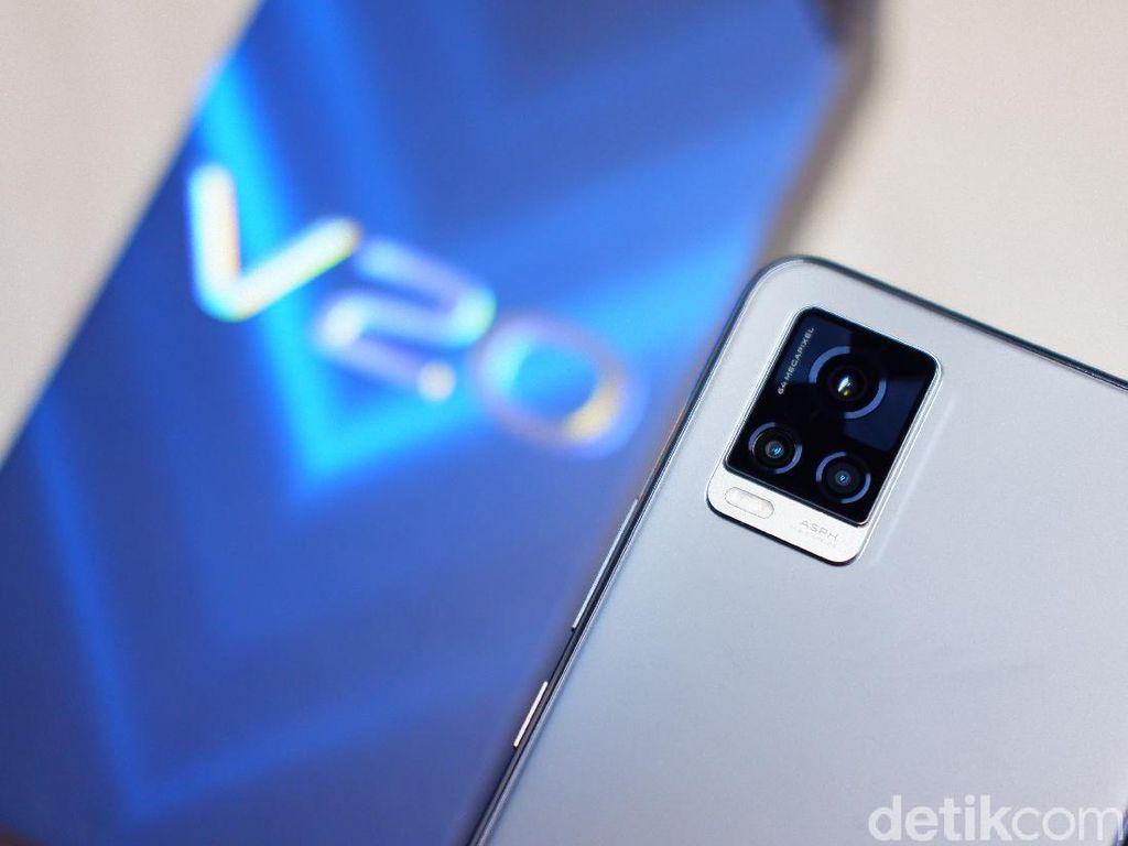 Review Vivo V20, Kamera Cetar Desain Stylish Buat Si Trendy
