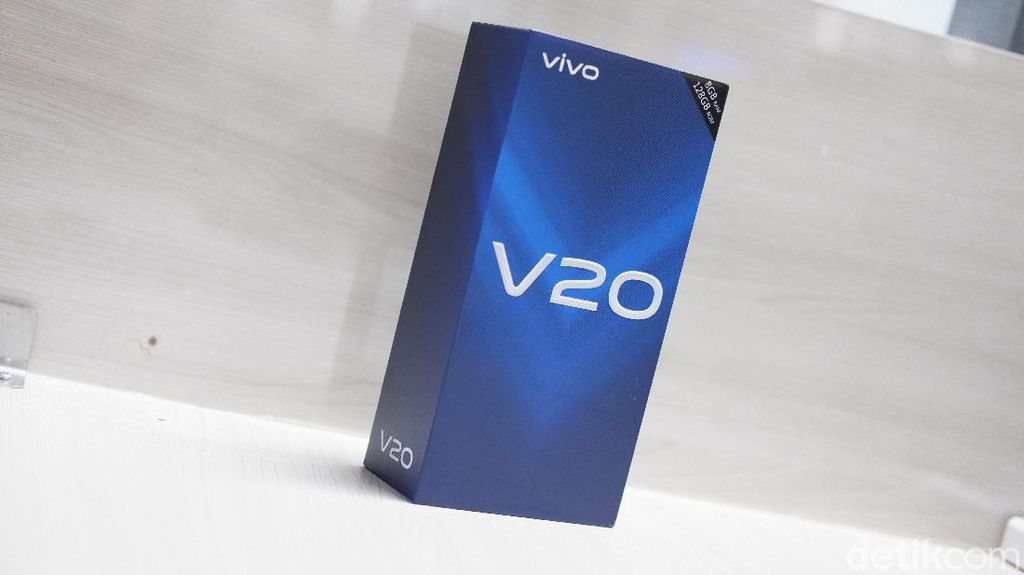 Unboxing Vivo V20, Punya Kamera Selfie Mumpuni Harga Rp 5 Juta