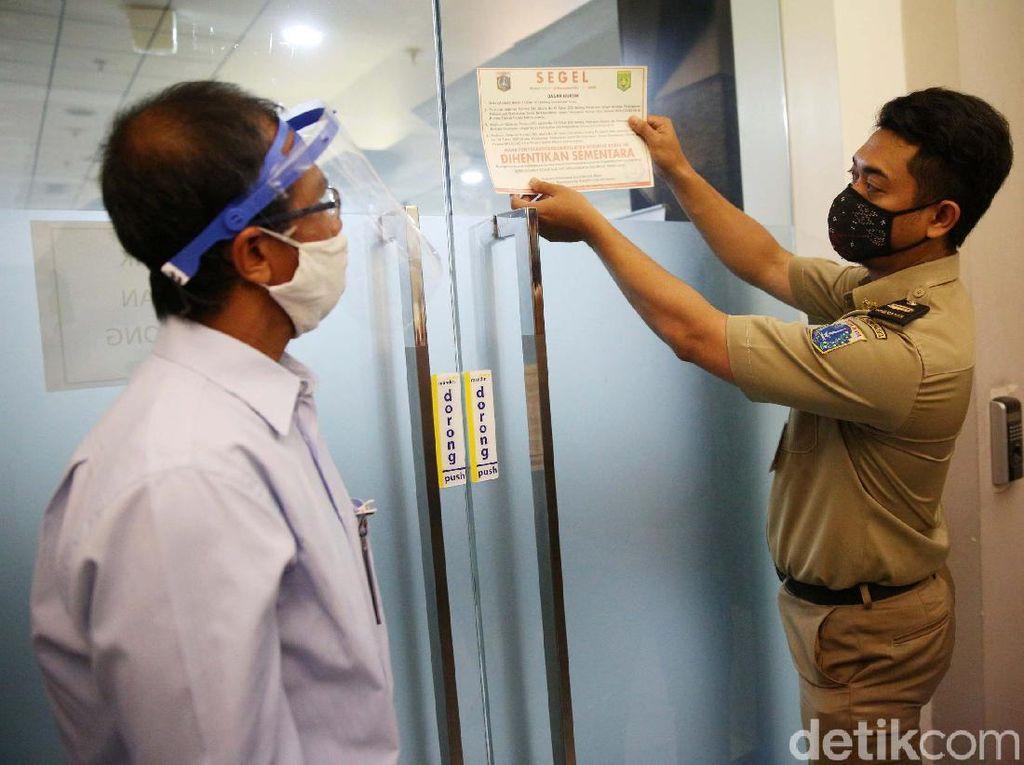 DKI Tutup 174 Perusahaan: 112 Terpapar Covid, 62 Langgar Protokol Kesehatan