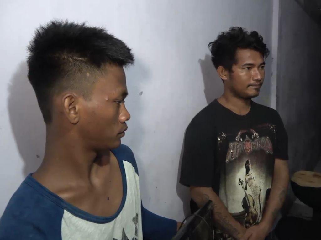 Detik-detik Maling Minimarket di Makassar Diciduk