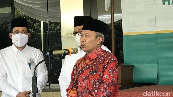 Direktur Jenderal Penyelenggaraan Haji dan Umrah Kemenag Nizar Ali