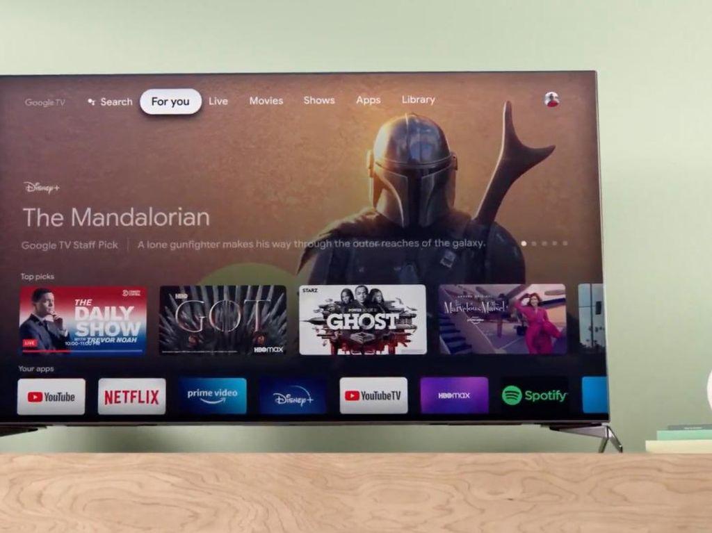 Google TV Resmi Diperkenalkan Bareng Chromecast Baru