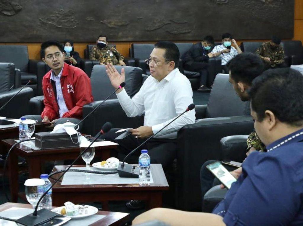 Ke Anggota BEM Kampus di Jakarta, Ketua MPR Bicara Kebinekaan