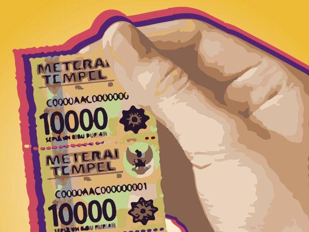 Meterai Rp 10.000 Diedarkan Pekan Depan