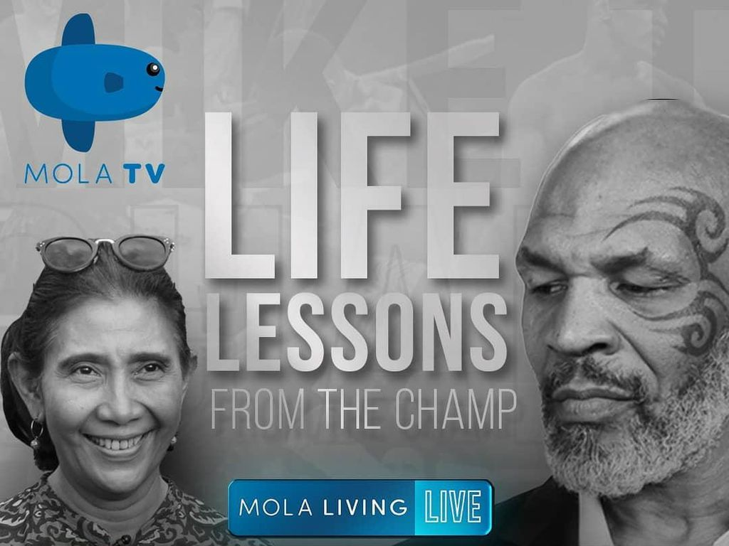 Link Live Streaming Mike Tyson dan Susi Pudjiastuti Naik Ring