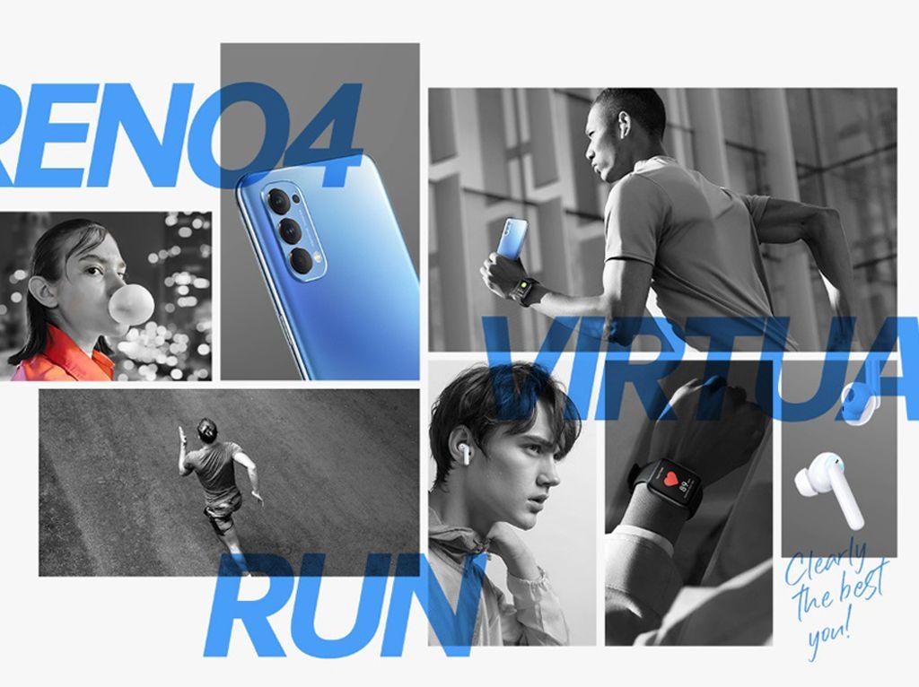 Oppo Gelar Kompetisi Lari Virtual, Begini Cara Daftarnya