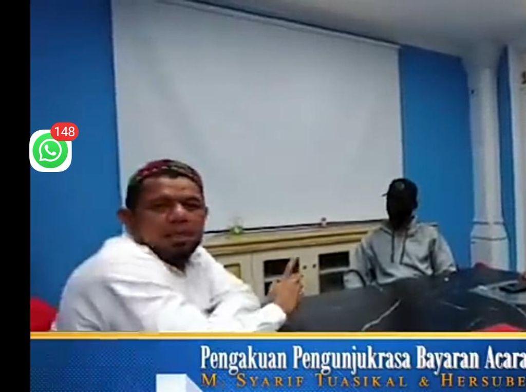 Video Dua Demonstran Akui Dibayar di Acara KAMI di Surabaya