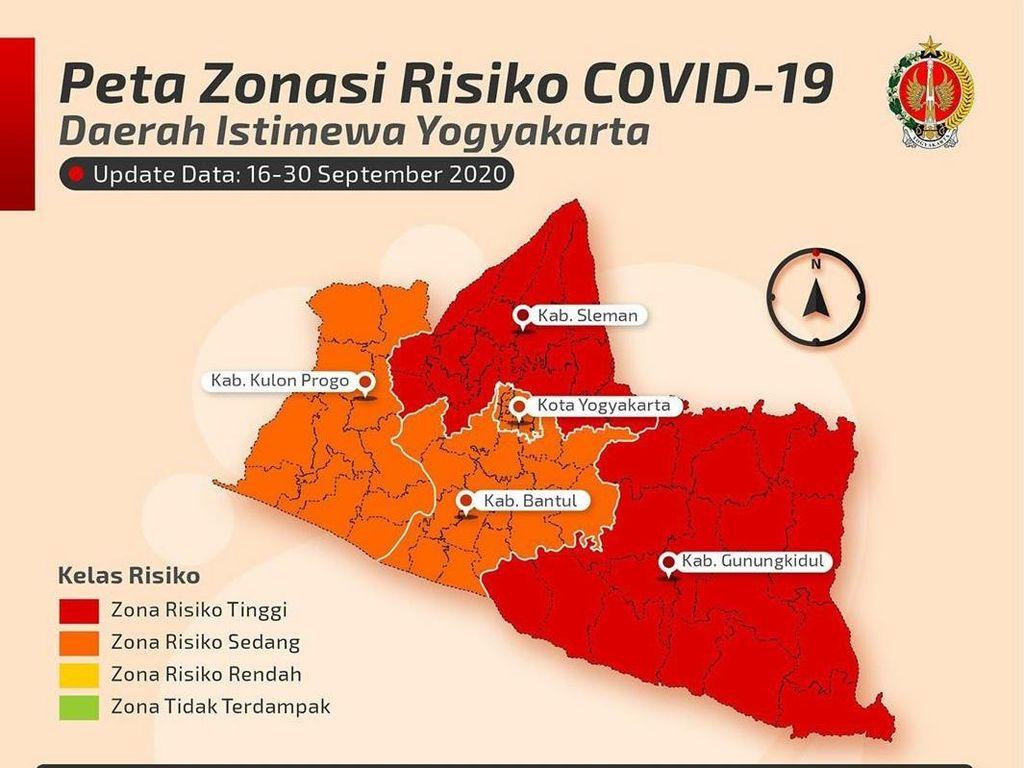 Bantah Jadi Zona Merah Corona, Dinkes Gunungkidul: Selama Ini Oranye Terus