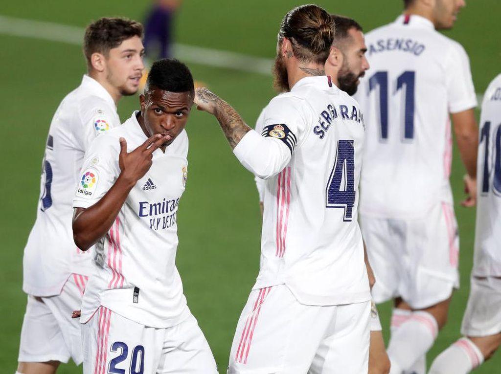 Vinicius Impikan Treble Bersama Real Madrid