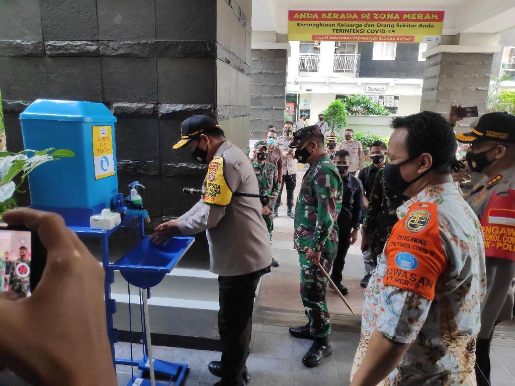 TNI-Polri Resmikan Apartemen Bebas COVID Berstandar Prokes di Jakbar