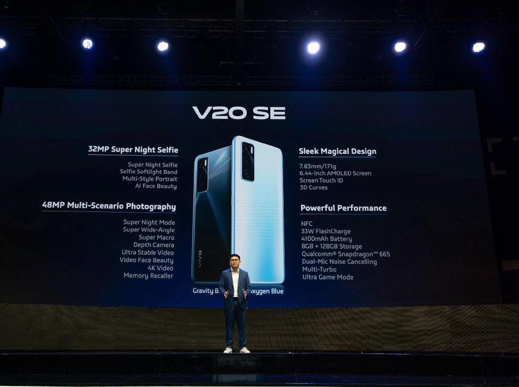 Selain NFC, Ini Sederet Fitur yang Diunggulkan Vivo V20 SE
