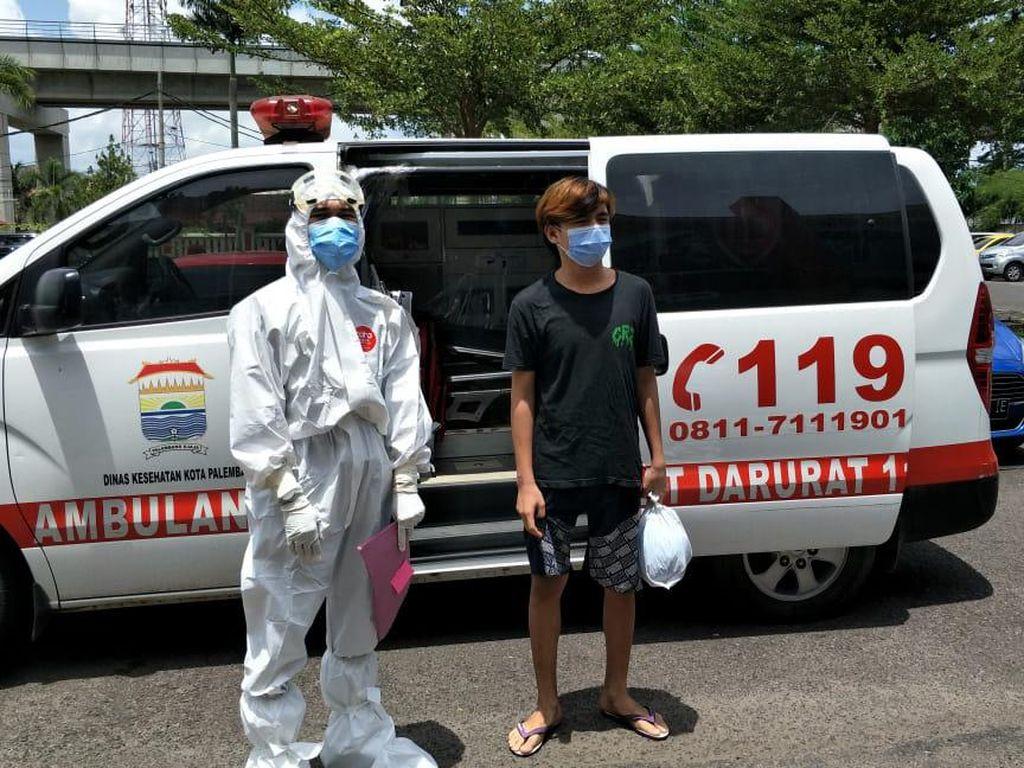 1 Tahanan Polrestabes Palembang Positif Corona