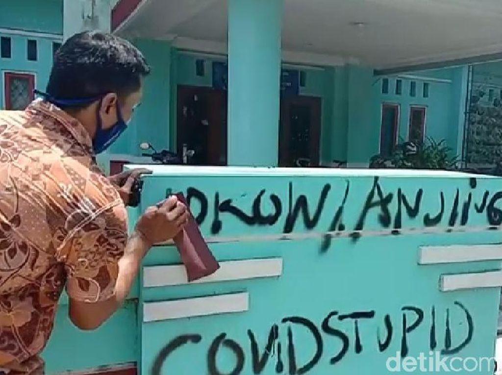 Pencoret Tembok Hina Jokowi Gangguan Jiwa, KSP Soroti Adanya Rentetan