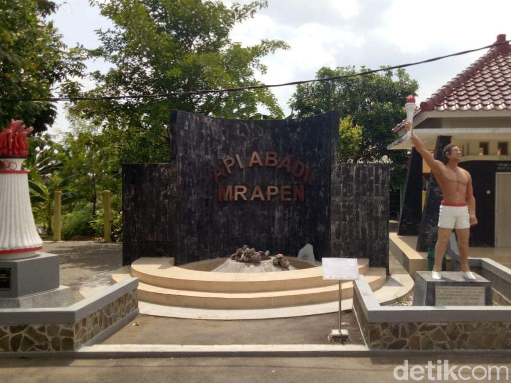 Tentang Api Abadi Mrapen yang Kini Padam, Obor Asian Games hingga Api Dharma