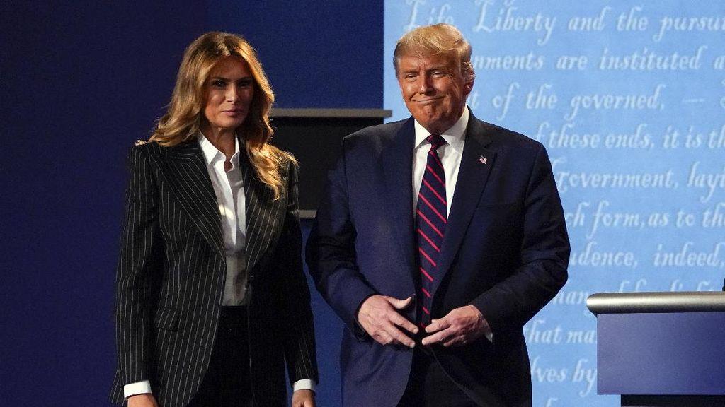 Donald Trump dan Melania Positif Corona