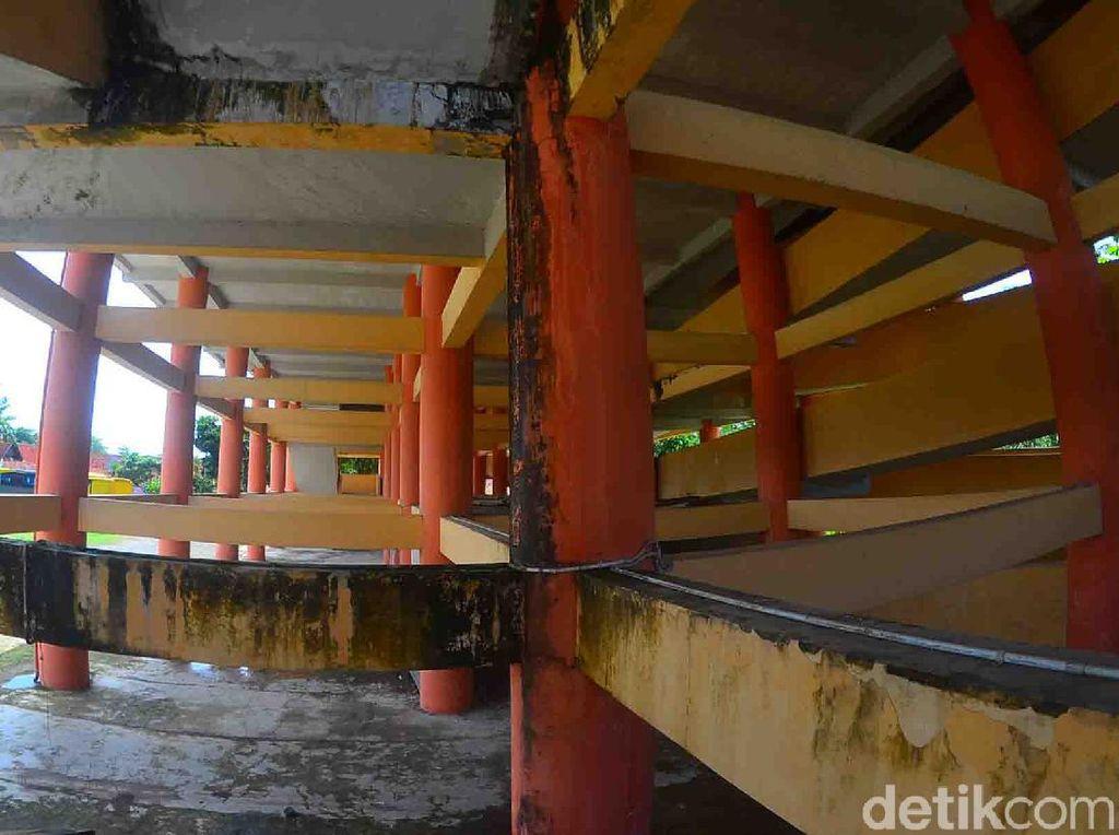 Gedung Shelter Tsunami di Pangandaran Tak Terawat