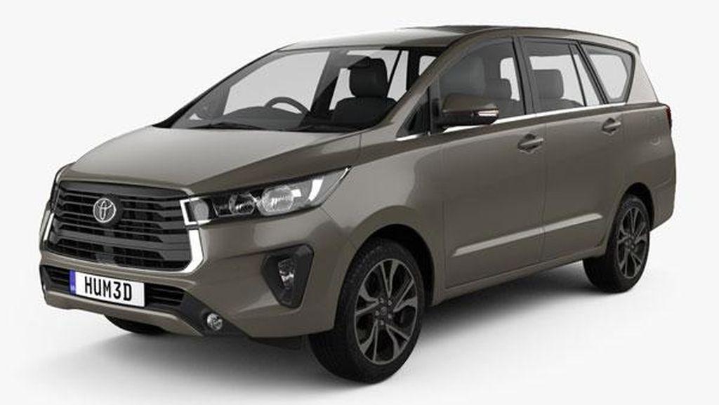 Toyota Siapkan Innova Facelift Terbaru, Inikah Tampangnya?