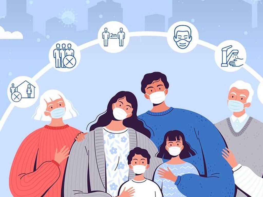 Begini Cara Lindungi Keluarga dari Paparan COVID-19