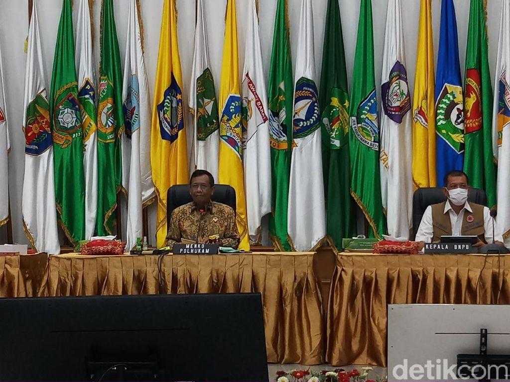 Mahfud Md: DKI dan Aceh Tak Ada Pilkada Justru Angka Infeksi Corona Tinggi