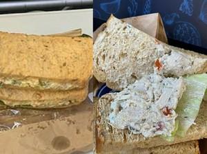 Penumpang First Class Ini Komplain karena Dapat Sandwich Murahan