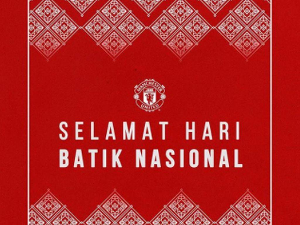 Dari Manchester United buat Indonesia: Selamat Hari Batik Nasional!