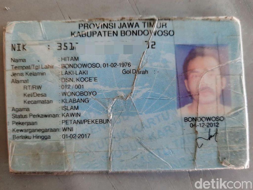 Unik! Pria di Bondowoso Bernama Hitam Meski Kulitnya Sawo Matang