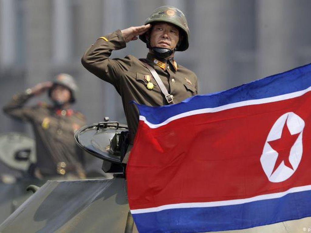 Persiapan Korea Utara Pamer Kekuatan di Parade Militer 75 Tahun