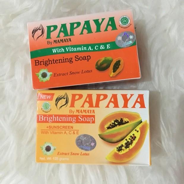 sabun pepaya merupakan sabun bahan alami yang memiliki manfaat baik pada kulit