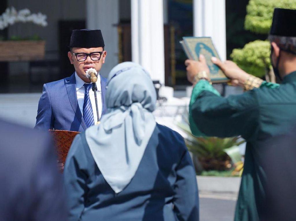 Lantik Sekda Kota Bogor, Bima Arya: Habis Sarip Terbitlah Syarifah!