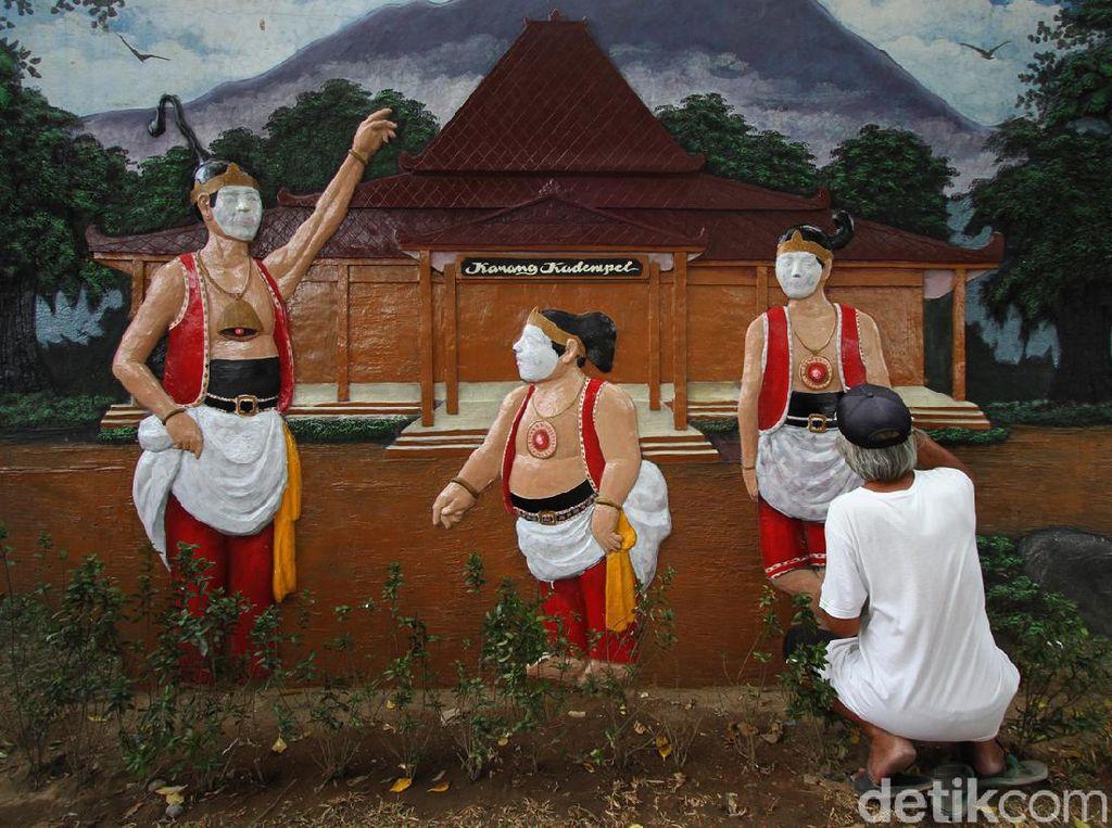 Taman Karang Kadempel Surakarta Dipercantik