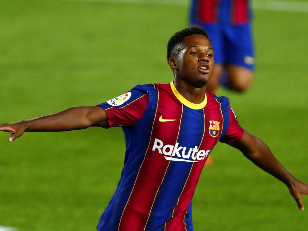 Ansu Fati Satu Gol Lagi Menuju Rekor Baru Liga Spanyol