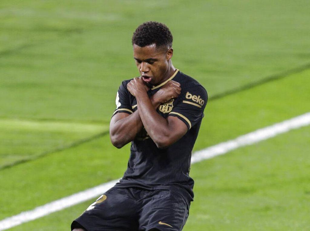Ansu Fati Lebih Membunuh Ketimbang Messi, Lewandowski, dan Vardy